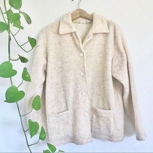 Vintage Sherpa Teddy Coat